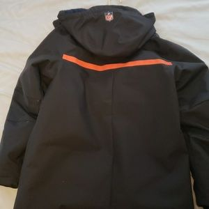 pretty nice 22165 2c883 Denver Broncos heavy winter coat Nike